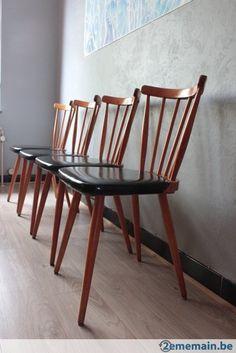 Vintage retro chaises avec accoudoirs A vendre