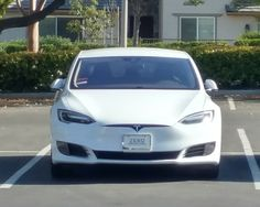 Saw this beauty yesterday. Love those Tesla's!   See at least one every single day. My fave is white.