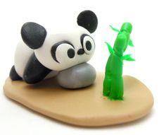 Polymer clay Panda!