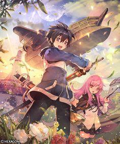 Zero no Tsukaima Anime Love, All Anime, Otaku Anime, Zero No Tsukaima Anime, The Familiar Of Zero, Anime Zero, Manga Story, Kawaii Chibi, Cute Anime Couples