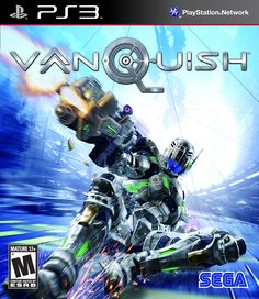 vanquish ps3 box art - Google Search
