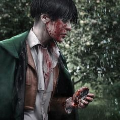 Levi, dantelian: Me (Dantelian) as Levi Ackerman... - this is an amazing cosplay