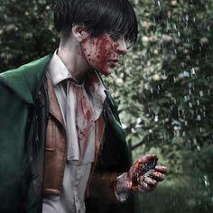 Levi, dantelian: Me (Dantelian) as Levi Ackerman... - this is an amazing cosplay