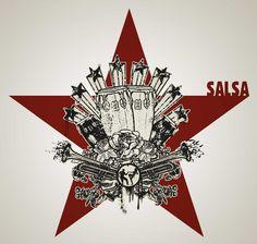 #salsa #cuba #mambo #latin #print #design #poster #tshirt #callejero #rumba