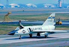 A USAF Convair F-106A Delta Dart from the 95th FIS at Dover AFB.