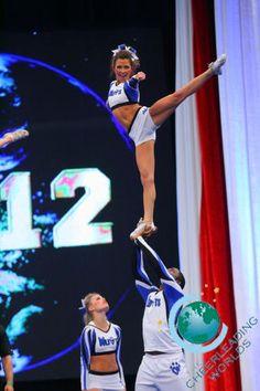 Cheer Athletics Wildcats - The Cheerleading Worlds 2012 - Partner Stunt