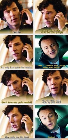 Sherlock faces a long and laborious exile.