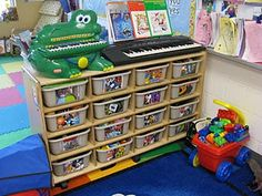 great idea for playroom for daycare