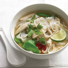 A few tweaks give chicken soup a spicy new attitude.