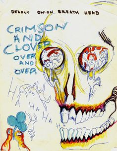 Your picture is still on my wall.    -Daniel Johnston.