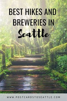 Seattle is full of beautiful places to hike and plenty of places to drink beer. Here are some of the best hikes and brewery combinations around Seattle! Seattle Travel Guide, Seattle Vacation, Seattle Hiking, Vacation Spots, Greece Vacation, Colorado Hiking, Vancouver Travel, Moving To Seattle, Mini Vacation
