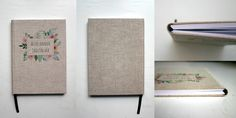 Personalized notebook with photos :)