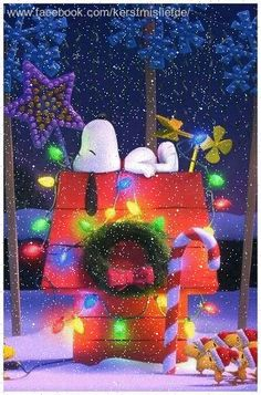 Snoopy with colorful christmas lights and christmas decorations. I added falling snow and a border to it. Snoopy with colorful christmas lights and christmas decorations. I added falling snow and a border to it. Merry Christmas Gif, Peanuts Christmas, Charlie Brown Christmas, Christmas Scenes, Christmas Wishes, Christmas Art, Christmas Greetings, Winter Christmas, Snoopy Christmas Decorations