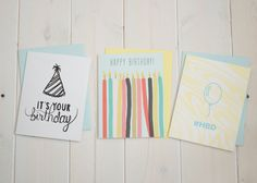 Birthday Party Bundle by Denik | A portion of the proceeds go towards building schools in impoverished countries