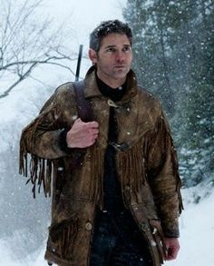 DeadFall Eric Bana Fringe Leather Jacket