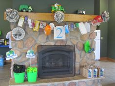 trash scavenger hunt supplies and trash decor at my son's garbage truck birthday party. Garbage Truck Party, Trash Party, 4th Birthday Parties, Baby Birthday, Birthday Ideas, Animal Party, Trucks, Diy, Party Ideas