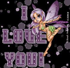 Purple Love You | Purple I love you Image