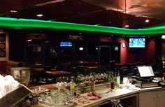 Green is good choice for a Bar Project Done by Jagger & Co