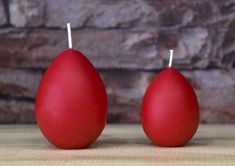 Decor Priceless Candles by DecorCandlesArt Handmade Candles, Etsy Seller, Create, Eggs, Red, Home Decor, Decoration Home, Room Decor, Egg