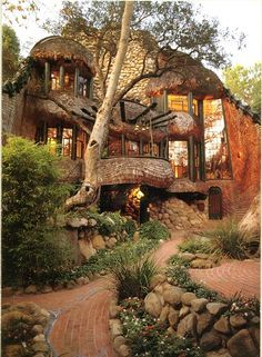 This is a SWEEETTTT organic house!