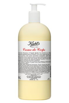 Kiehl's creme de corps. It cost a million dollars because it's awesome.