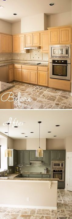 Add Character to Your Kitchen Using Pendant Lights.