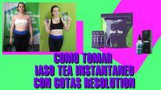 COMO TOMAR EL IASO TEA INSTANTANEO CON LAS GOTAS RESOLUTION DE TLC TOTAL... Fitbit, Tea, Side Effects, Exercises, Teas