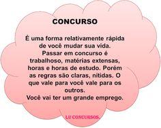 Lu Concursos: CONCURSO