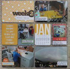 JenTapler Designs: Project Life 2013, Week 2