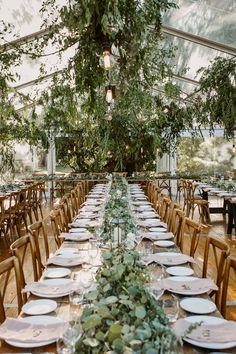 Wedding Receptions greenery tented wedding reception ideas - Depending on your venue contract, there might be a few restrictions when it comes to the type of décor you can bring in or alterations. Wedding Reception Ideas, Tent Wedding, Forest Wedding, Wedding Themes, Wedding Table, Rustic Wedding, Wedding Venues, Wedding Planning, Dream Wedding