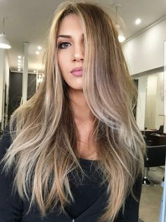 21 Cute Champagne Blonde Hair Color Blends for Women : mekfashions Hair Color For Women, Hair Color And Cut, Ombre Hair, Balayage Hair, Champagne Blonde Hair, Champagne Hair Color, Brown Blonde Hair, Dark Blonde Hair Color, Sandy Blonde