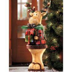 24' Standing Moose Christmas Decoration