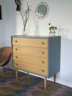 Commode vintage – Vintage Home Decor Vintage Home Decor, Decor, Upcycled Furniture, Artisan Furniture, Furniture Makeover, Retro Furniture, Diy Furniture, Interior Design Furniture, Painted Furniture