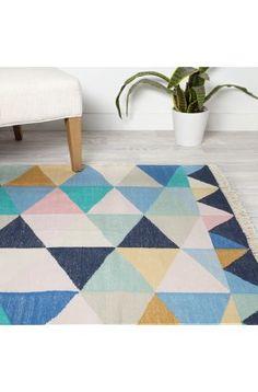 Harlequin Blue Rug   New Homewares Online   Arro Home