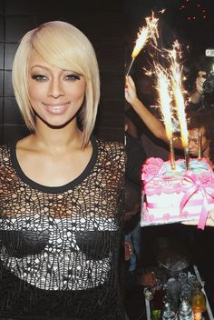 Keri Hilson- Hair  am i daring enough to cut it? love the cut though....