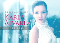 Actress Karla Alvarez dies at 41 years of age - click on photo for more info