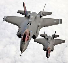 Two F-35s Thundering Together for the First Time