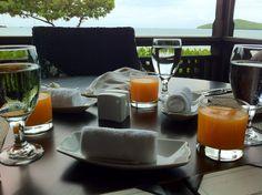best part of breakfast at @HermitageBay: freshly squeezed juice #Antigua