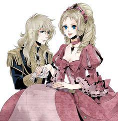 Oscar François de Jarjayes, Marie Antoinette | Rose of Versailles