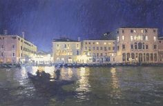"""""""Lights on the Grand Canal"""" by Nicholas Verrall"""