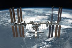 International Space Station [ISS], as seen by a crew member on the Space Shuttle Endeavour STS-134, after their post-undocking relative separation. Un-docking of two spacecraft occurred at 11:55 p.m. (EDT) on May 29, 2011.  Zarya, the first module of the ISS launched in 1998, is seen in the foreground. Since then, 26-Space-Shuttle-flights have docked with the ISS to assemble various other modules and components, which include four pairs of solar-arrays seen on each side. Photo: NASA
