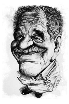 Gabriel Garcia Marquez  http://www.behance.net/gallery/Escritores-latinos