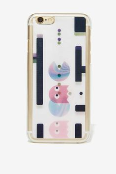 Leader of the Pac-Man Holographic iPhone 6 Case | Shop Accessories at Nasty Gal!