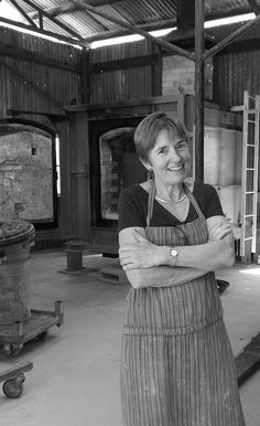 "Vivien Lightfoot, ceramic studio holder, after a firing for her solo exhibition ""Echoes in Time', Belconnen Arts Centre 16 May - 7 June The works were fired in Strathnairn Arts' Morris 90 kiln, February 2015 February 2015, June, Ceramic Studio, Centre, Studios, Art, Pottery Studio, Craft Art, Kunst"