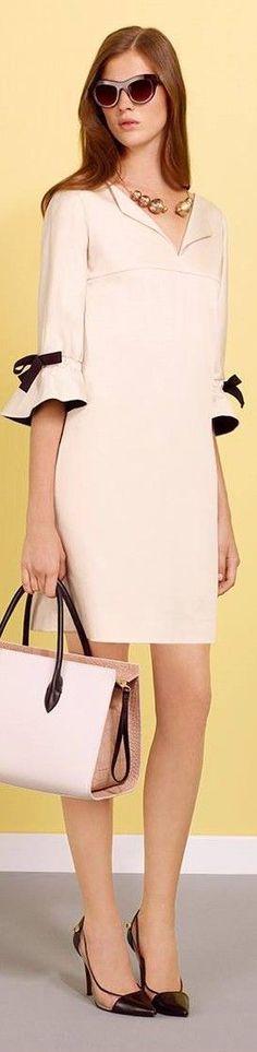 Платье А-силуэта в стиле 60-х