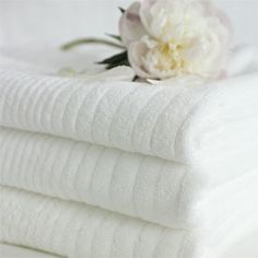 My Love of White Linens and Towels - Ask Anna