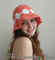 Josephine's Floppy Sun Hat - Free Crochet Pattern - The Lavender Chair