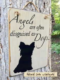 Angels are often disguised as Dogs by TheVintageHammer on Etsy