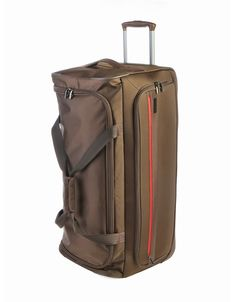 Find the perfect travel mate when you check-in with Cellini's Xpress large Trolley Duffle bag which is available in Black, Blue and Olive. Duffle Bags, Suitcase, Accessories, Suitcases