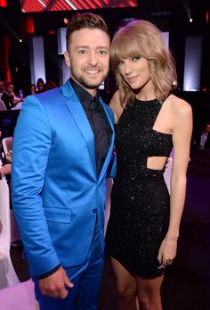 With Justin Timberlake at the 2015 iHeartRadio Awards